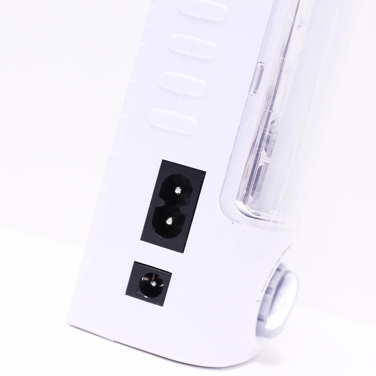 Luminária de Emergência 24 Leds Bivolt com dimmer