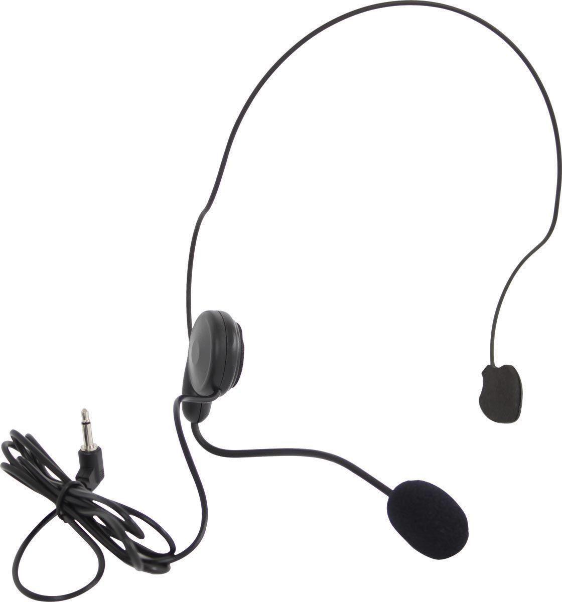 MICROFONE SEM FIO UHF HEADSET MINI-V