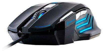 Mouse Gamer BLACK HAWK OM-703 Preto/Azul FORTREK