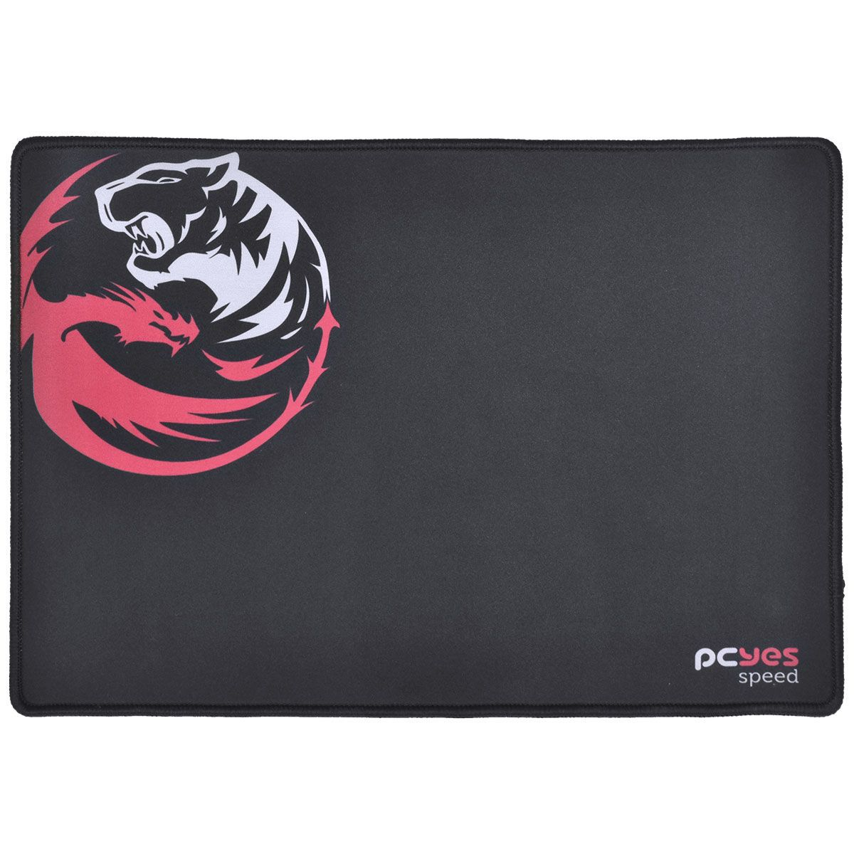 MOUSE PAD GAMER DASH SPEED 355X254X3MM PRETO