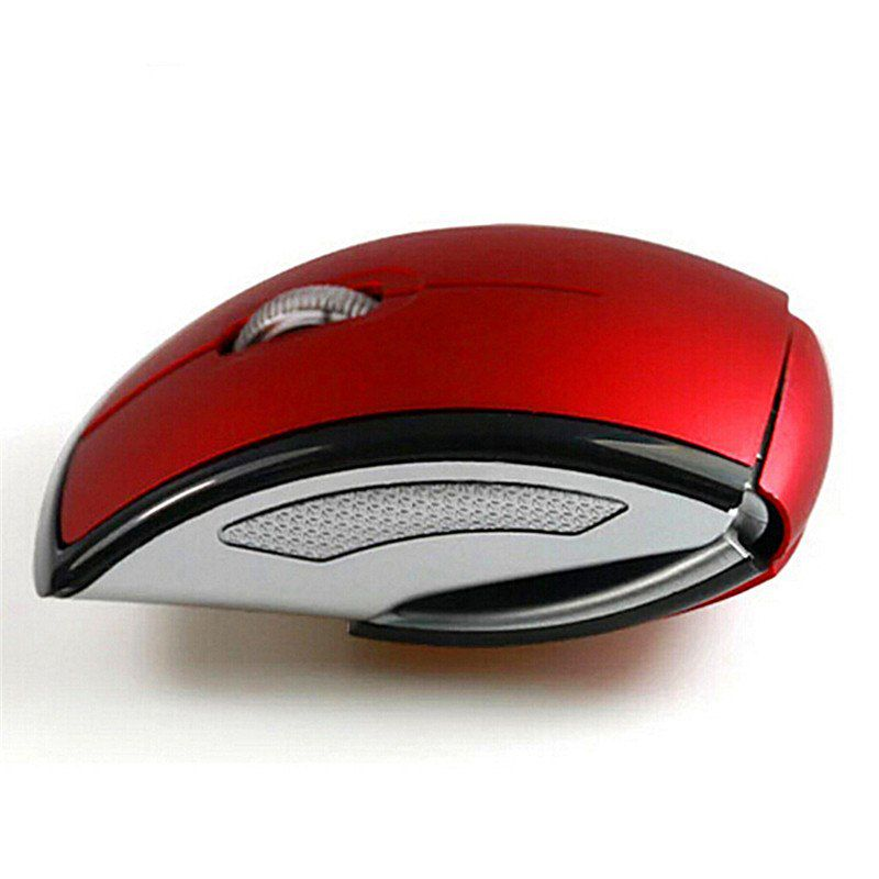 Mouse Sem Fio Dobrável Wireless 2.4ghz Usb Notebook