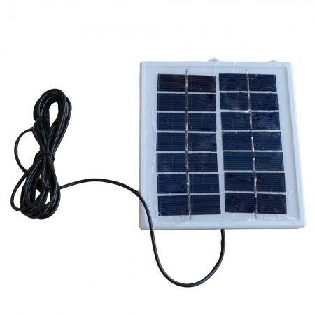Painel Placa Solar Portátil 6v 2w Carregador Fotovoltaica