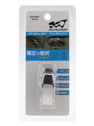 Porta Óculos Veicular Suporte Quebra Sol Para Óculos Canetas