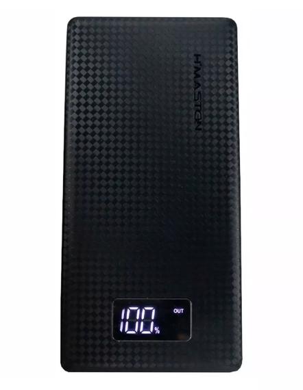 Power Bank Carregador Portátil 2 Portas Usb Com Lcd Quick Charge 3.0