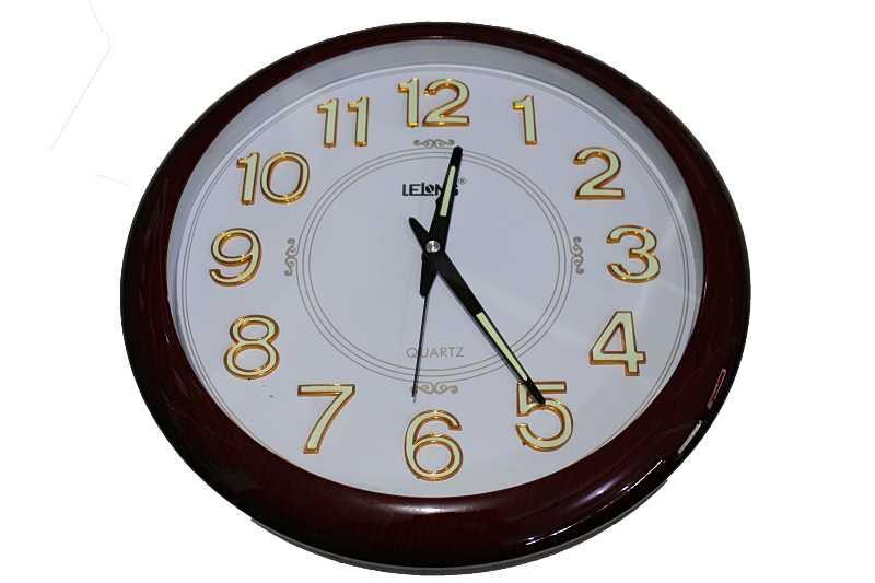 Relógio de parede grande excelente acabamento