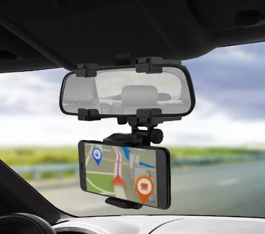 Suporte de celular automotivo para Retrovisor MTG