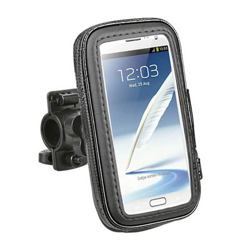 Suporte de celular para moto e bicicleta impermeável  ate 5,5 polegadas