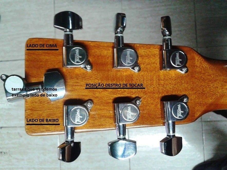 Tarraxa Para Violão ou guitarra de aço inox