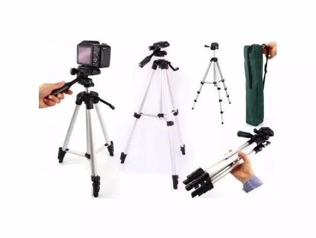 Tripé Profissional para câmera - MTG-103 Grande alto reforçado (1,80 mts)