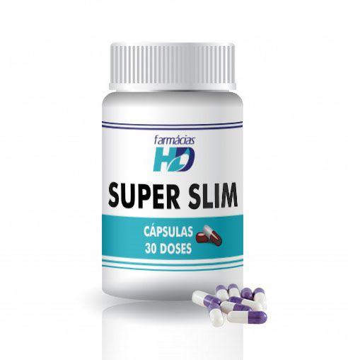 Super Slim (Cápsulas) - 30 doses