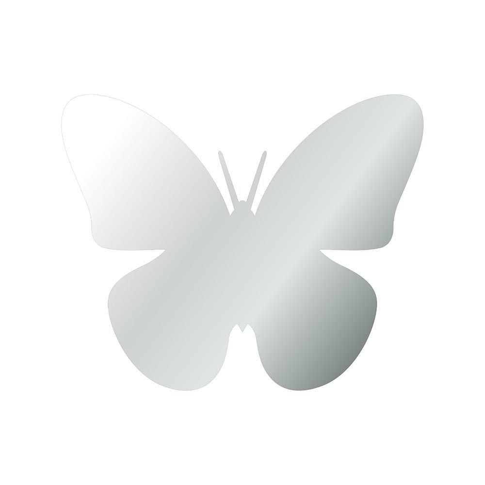 Borboleta -  Produzido em acrílico espelhado.
