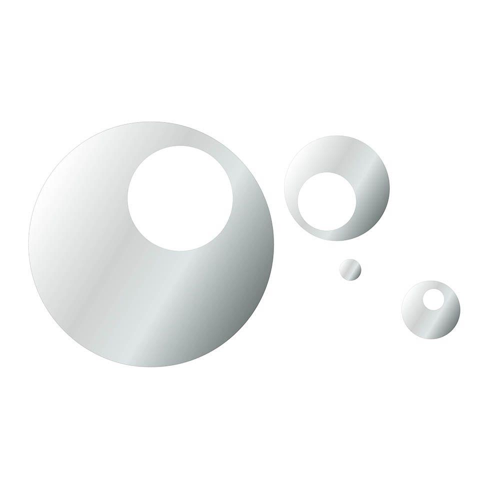 Círculos  -  Produzido em acrílico espelhado.