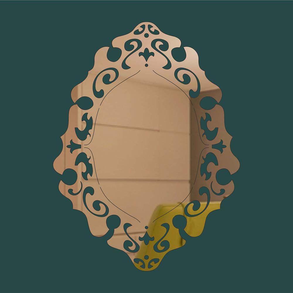Espelho -  Produzido em acrílico espelhado.