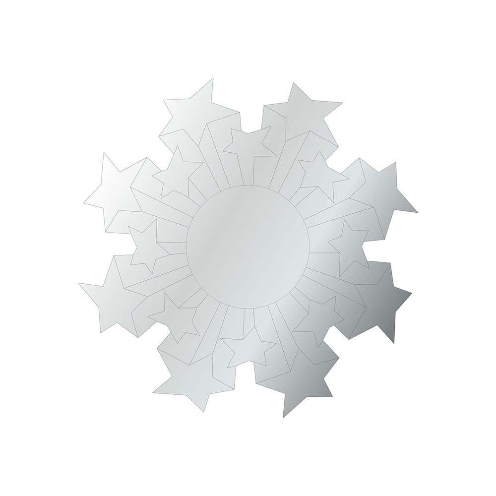Estrela Chapa -  Produzido em acrílico espelhado.