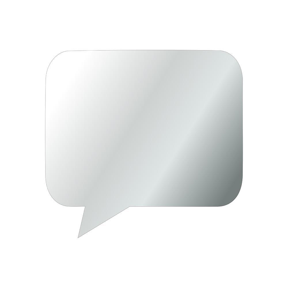 Fala -  Produzido em acrílico espelhado.