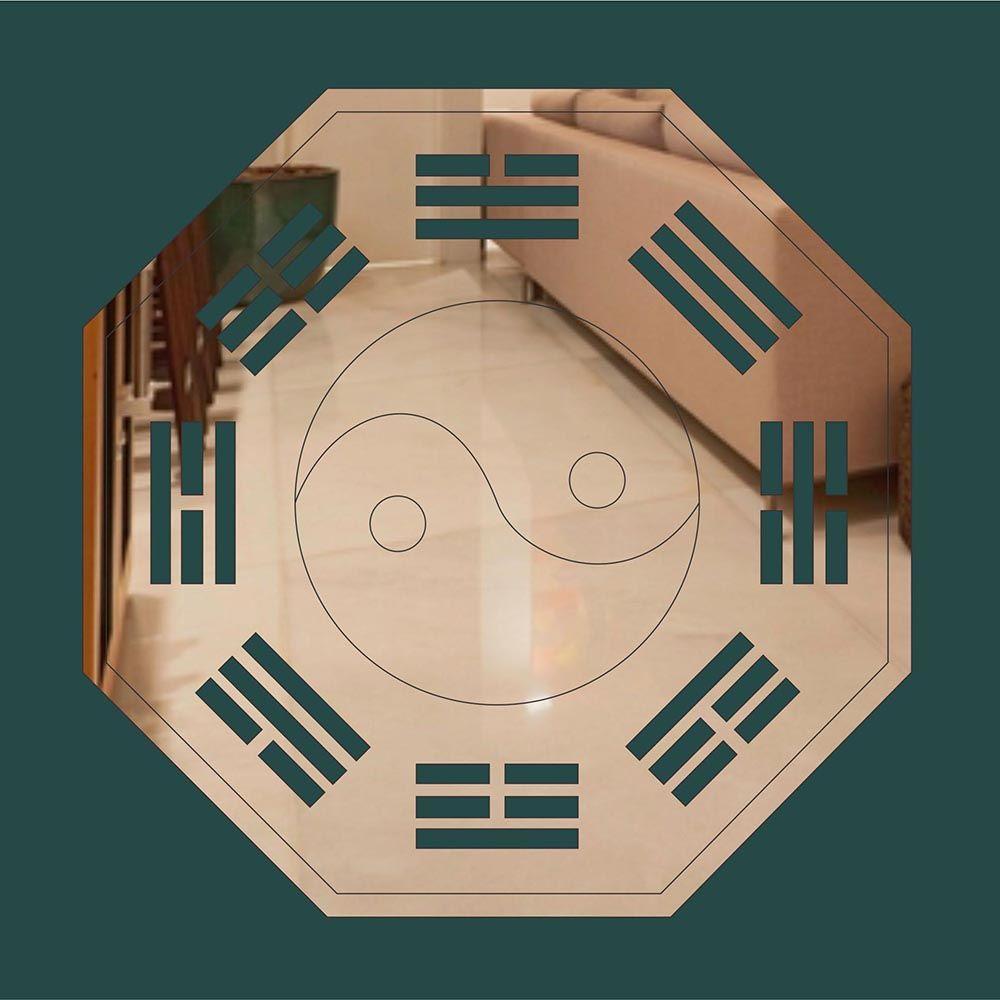 FENG SHUI -  Produzido em acrílico espelhado.