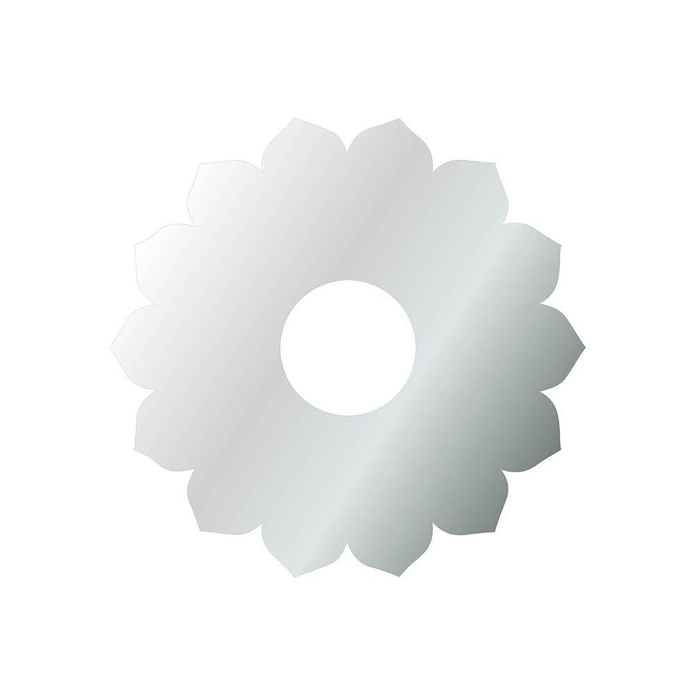 Flor -  Produzido em acrílico espelhado.