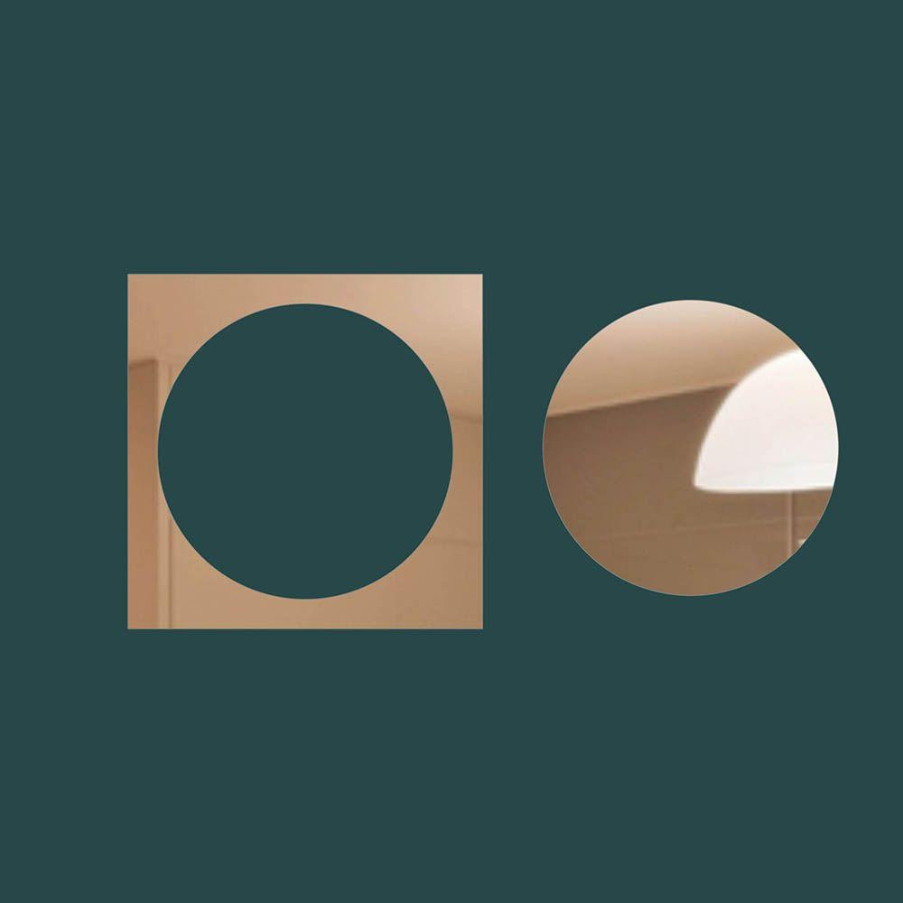 Geometrico -  Produzido em acrílico espelhado.