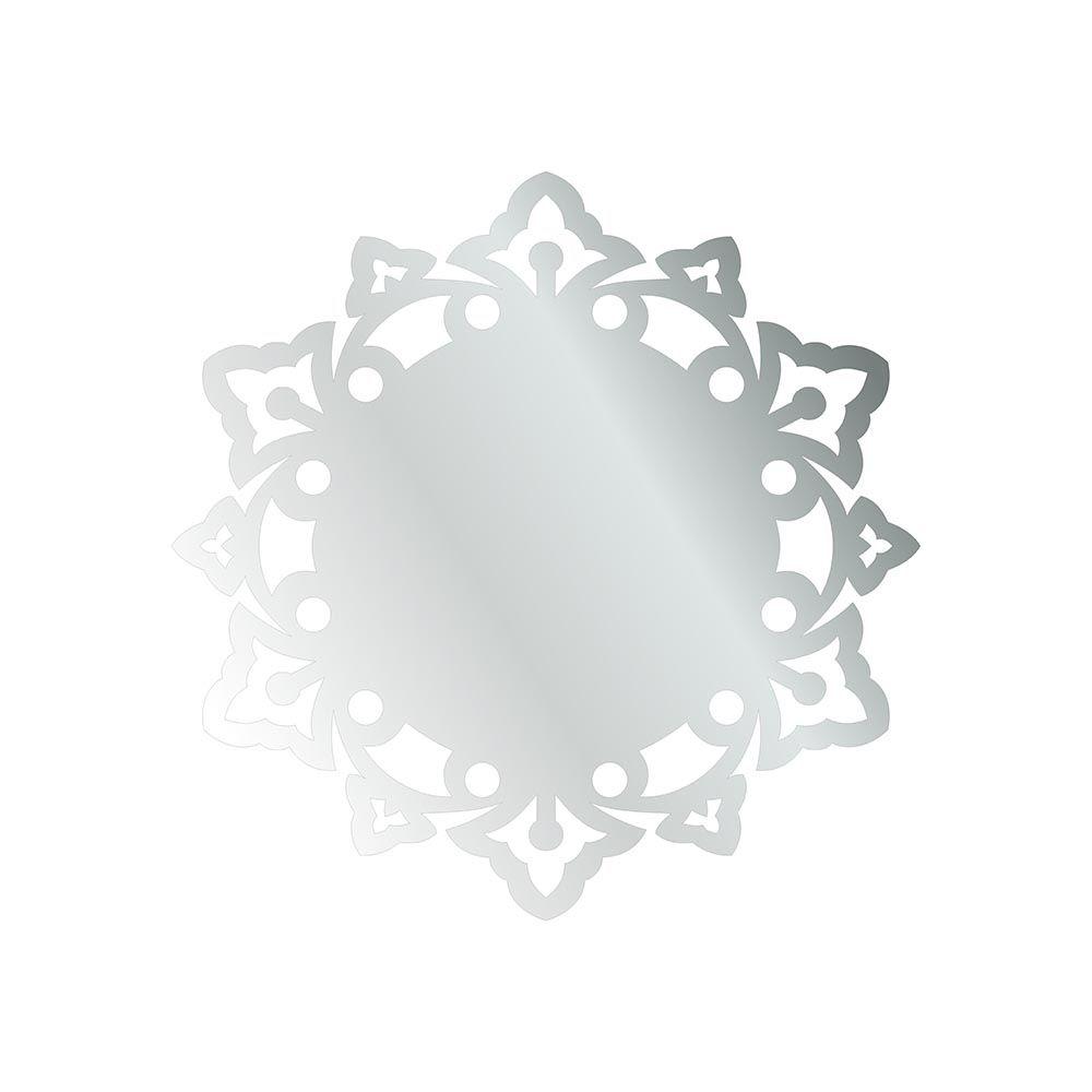 Mandala -  Produzido em acrílico espelhado.