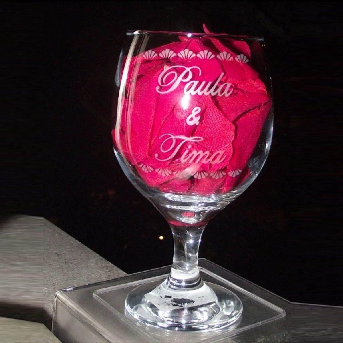 Taça de Vinho Personalizada - 220 ml