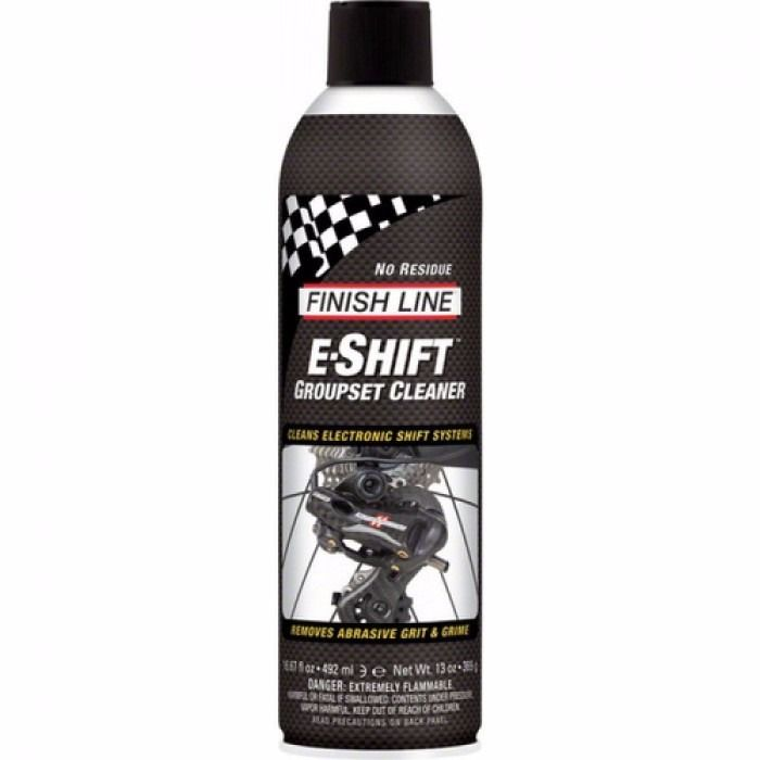 LIMPADOR FINISH LINE P/ CAMBIO ELETRONICO E-SHIFT - 270 ML