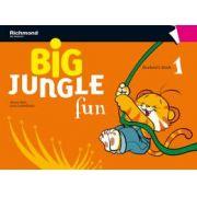 BIG JUNGLE FUN 1 STUDENT´S BOOK + MULTI-ROM + POP-OUTS + STICKERS