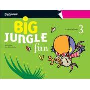 BIG JUNGLE FUN 3 STUDENT´S BOOK + MULTIROM + POP-OUTS + STICKERS