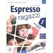Espresso ragazzi. Corso di italiano A2. Con DVD-ROM: Espresso ragazzi 1 Libro studente e esercizi + DVD