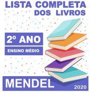LISTA COMPLETA DE LIVROS 2º ANO - ENSINO MÉDIO