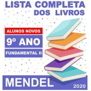 LISTA COMPLETA DE LIVROS 9º ANO ALUNOS NOVOS - FUNDAMENTAL 2