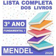 LISTA COMPLETA DE LIVROS 3º ANO - FUNDAMENTAL 1