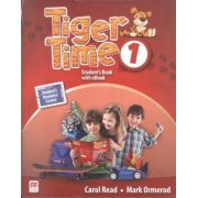 Tiger Time 1 student's book with ebook pack