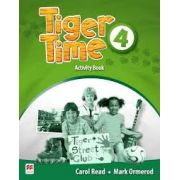 Tiger Time 4 Activity book
