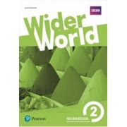 Wider World 2 Wb With Ol Hw Pack: Workbook With Online Homework Pack