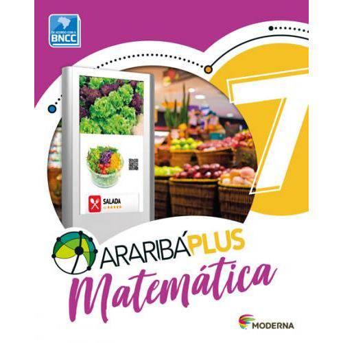 Araribá Plus Matemática 7º Ano (Cód.44774153)