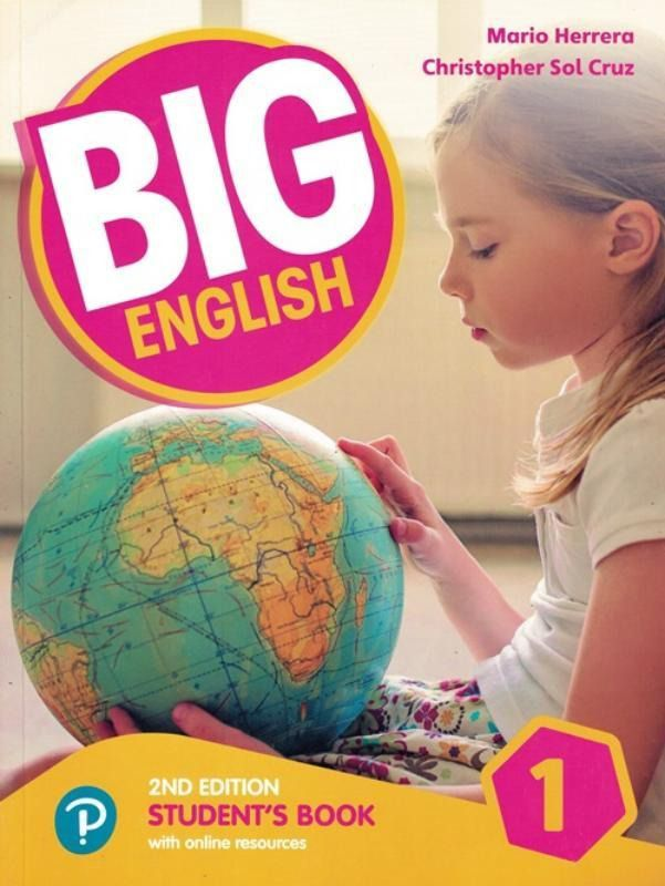 Big English 1 - Students Book With Online Resources - American Edition - 2nd Ed