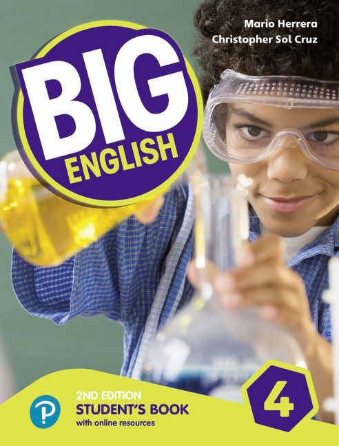 Big English 4 - Students Book With Online Resources - American Edition - 2nd Ed