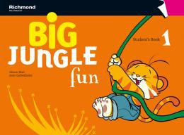 BIG JUNGLE FUN 1 STUDENT´S BOOK + MULTI-ROM + POP-OUTS + STICKERS