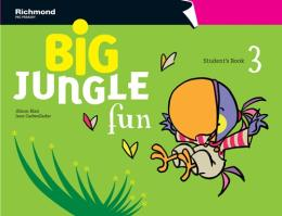 BIG JUNGLE FUN 3 STUDENT´S BOOK + MULTIROM + POP-OUTS + STICKERS