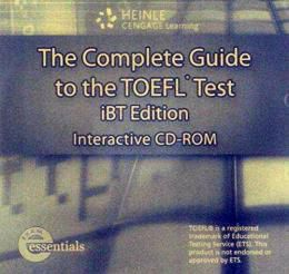 THE COMPLETE GUIDE TO THE TOEFL IBT 4TH EDITION - INTERACTIVE-CD ROM