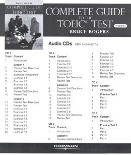 A COMPLETE GUIDE TO THE TOEIC TEST CD (5) THIRD EDITION
