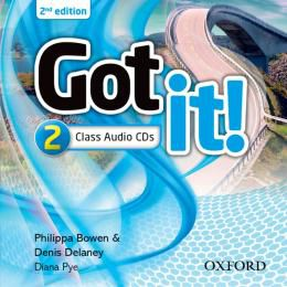 GOT IT 2 CLASS AUDIO CDS - 2ND ED