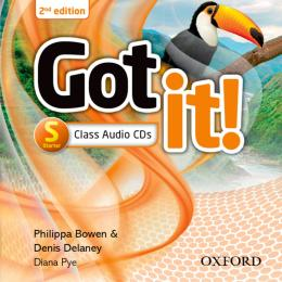 GOT IT! STARTER CLASS AUDIO CDS - 2ND ED