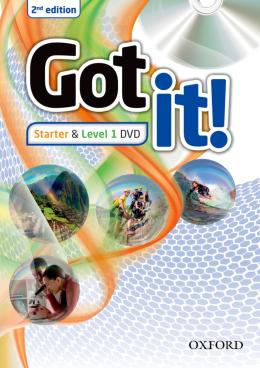 GOT IT! STARTER & LEVEL 1 DVD - 2ND ED