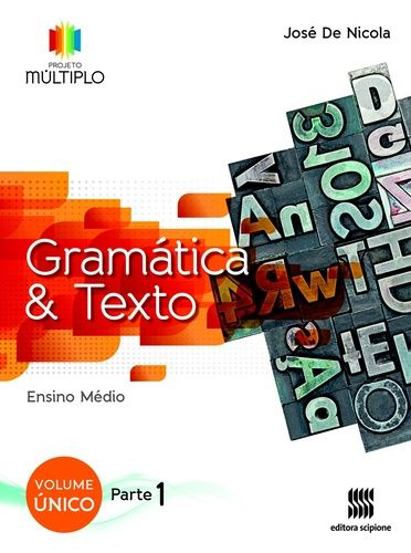 Gramática e Texto - projeto múltiplo