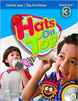 Hats on Top 3 students book
