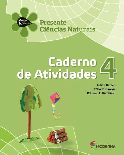 Projeto Presente - Ciências Naturais - Caderno De Atividades - 4º Ano - 4ª Edição