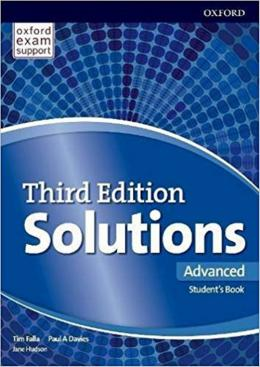 Solutions Advanced Sb And Online Practice Pack - 3rd Ed
