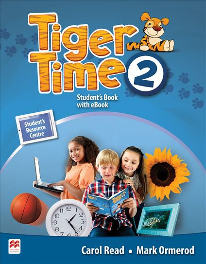 Tiger Time 2 student's book with ebook pack