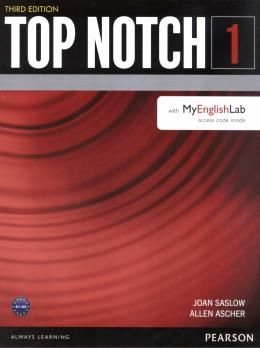 TOP NOTCH 1 SB A1-A2 WITH MYENGLISHLAB - 3RD ED